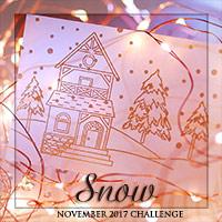 """Завдання листопада """"Сніг""""/November challenge """"Snow"""""""