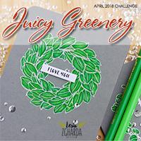 """Завдання квітня """"Соковита зелень"""" / """"Juicy Greenery"""" Challenge"""